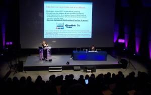 Photograph: Plenary Session 1 - Prof Frances Gardner, University of Oxford, UK